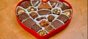 Verliefd op chocola