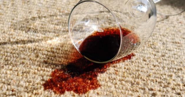 Weg met de wijnvlek